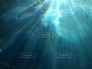 海中の風景の写真・画像素材[2040080]