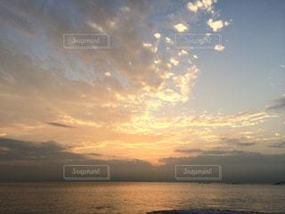 湘南の夕焼けの写真・画像素材[2040273]