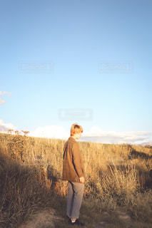 秋ポートレートの写真・画像素材[2092445]