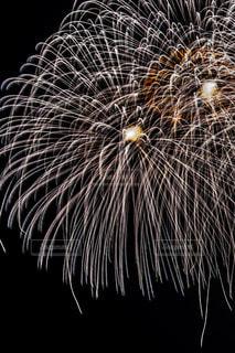白い花火の写真・画像素材[2283735]