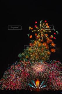カラフル花火の写真・画像素材[2283738]