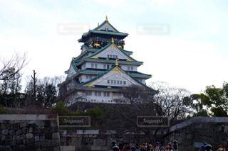 大阪城の写真・画像素材[2041655]
