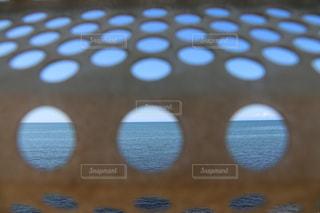 日本一海に近い駅である青海川駅から見た地平線の写真・画像素材[2043608]