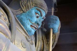 高尾山薬王院の持国天の写真・画像素材[2064114]