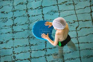 プールでの水泳教室の写真・画像素材[2261237]