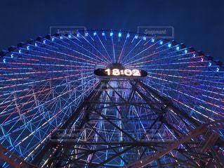 横浜の大観覧車の写真・画像素材[2695783]
