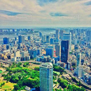 東京タワーからの写真・画像素材[2042637]