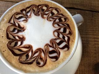 latte art2の写真・画像素材[2043996]