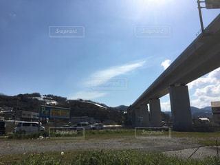 山と橋の写真・画像素材[2044315]