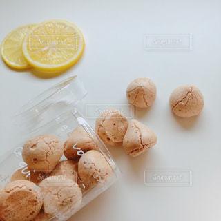 レモン味の焼きメレンゲ⊛の写真・画像素材[2421503]