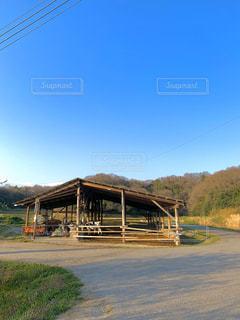 ジェラート屋さんの牛舎の写真・画像素材[3313095]