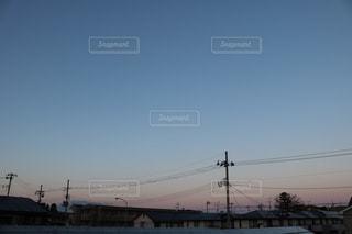 夕焼け空の写真・画像素材[2107538]