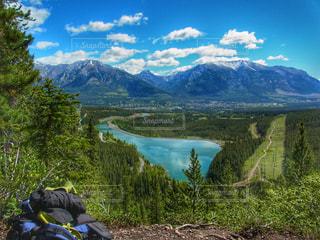 山の上から見た景色。の写真・画像素材[2111371]