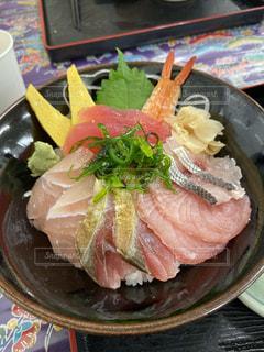 海鮮丼の写真・画像素材[2704005]