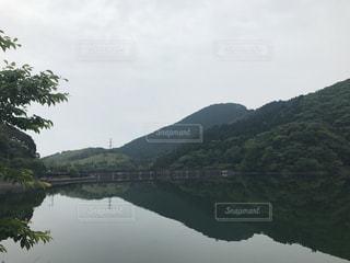 ダム湖①の写真・画像素材[2449313]