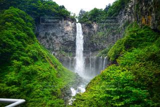 華厳の滝の写真・画像素材[2389925]