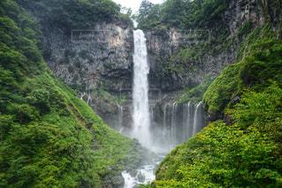 華厳の滝の写真・画像素材[2389926]