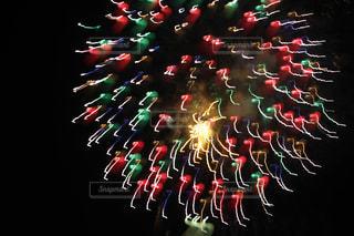 アート花火の写真・画像素材[2066061]