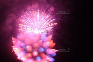 アート花火の写真・画像素材[2068436]