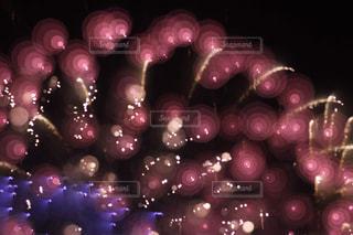 アート花火の写真・画像素材[2076068]