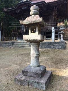 神社石灯籠の写真・画像素材[2059670]