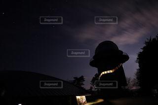 天文台の一枚の写真・画像素材[2061561]