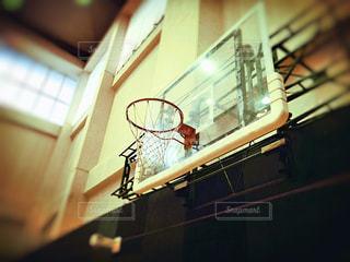 バスケットゴールの写真・画像素材[2408796]
