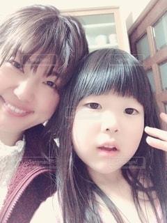 親子モデルの写真・画像素材[2065110]