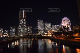 横浜夜景の写真・画像素材[2157536]