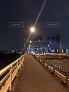 夜の第一京浜の写真・画像素材[2759270]