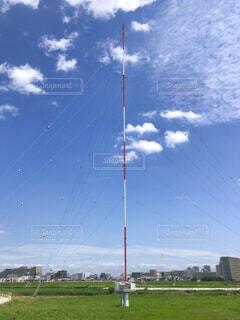 電波塔の写真・画像素材[4558733]