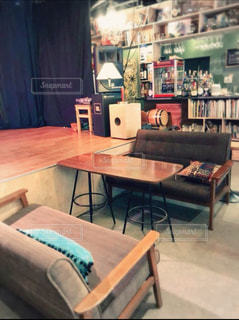 舞台のある錦糸町のカフェ。の写真・画像素材[2083471]