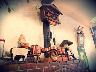 『ヒュッテ』というレストラン。ヒュッテはドイツ語で山小屋だそう…(^^)の写真・画像素材[2085865]