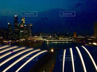 シンガポールの夜景の写真・画像素材[2190517]