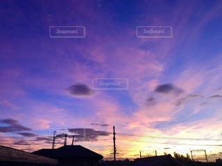 染まる街と空の写真・画像素材[2446184]