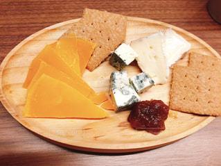 チーズ盛り合わせの写真・画像素材[2080151]