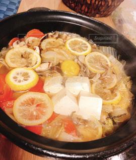 レモン鍋の写真・画像素材[2091506]