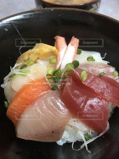 海鮮丼の写真・画像素材[2119896]