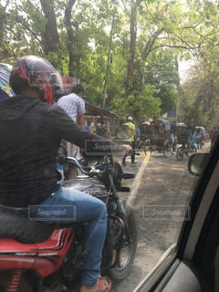 東南アジアの交通状況の写真・画像素材[2086559]