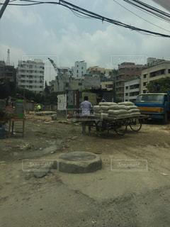 ダッカの街並みの写真・画像素材[2099713]