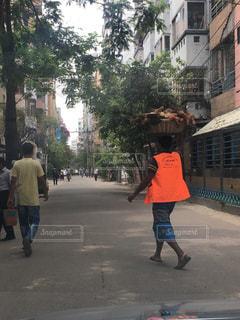 ダッカの街並みの写真・画像素材[2099716]