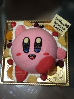 カービィ ケーキの写真・画像素材[2189815]