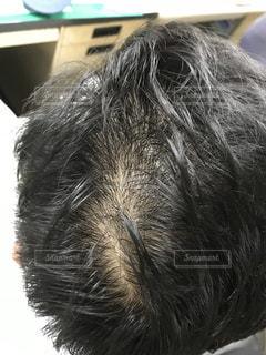 いくつかの髪のクローズアップの写真・画像素材[2271733]
