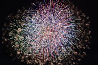 空の花火の写真・画像素材[2353773]