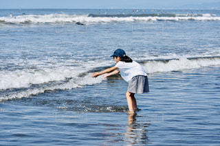 波と共にの写真・画像素材[2448819]