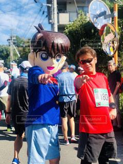 仮装マラソンの写真・画像素材[2448879]
