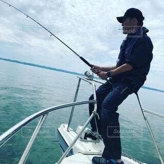 釣り人の写真・画像素材[4043098]