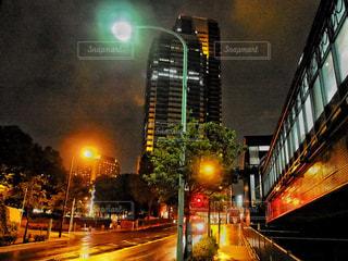 夜の街の写真・画像素材[748955]