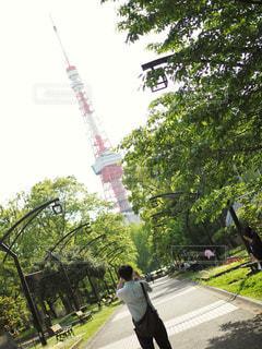 東京タワーの写真・画像素材[2089643]