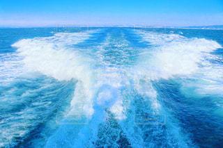 波しぶきの写真・画像素材[2083729]